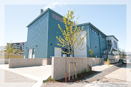 Corix Dockside Green District Energy Building